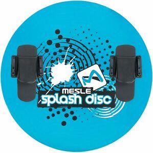 MESLE Teller Splash Disc 74 mit B20 Bindung, Wasserski Scheibe, blau