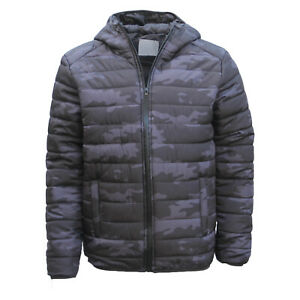 New-Men-039-s-Windproof-Water-Resistant-Lightweight-Puffy-Puffer-Coat-Quilted-Jacket
