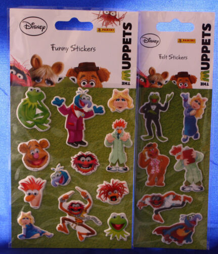 "** les Muppets ** 1 Arc /""feutre-sticker/"" ** 1 Arc/"" Funny-sticker/"" ** panini"