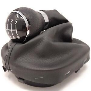 6-Speed-Gear-Shift-Knob-Gaiter-Boot-For-VW-Caddy-2004-2014-Touran-2003-2015