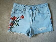 131a092c8a item 8 Topshop Floral Embroidered High waisted Mom Shorts Size 10 -Topshop Floral  Embroidered High waisted Mom Shorts Size 10
