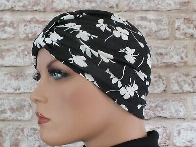 Headwear for  Hair Loss .Cancer turban Cotton Jersey Hat Chemo,