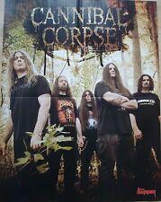 Amon Amarth  /  Canibal Corpse   __    1 Poster / Plakat   __  45 cmx 58 cm
