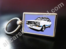 FORD ESCORT RS1800 METAL KEY RING. CHOOSE YOUR CAR COLOUR & GRILLE STYLE