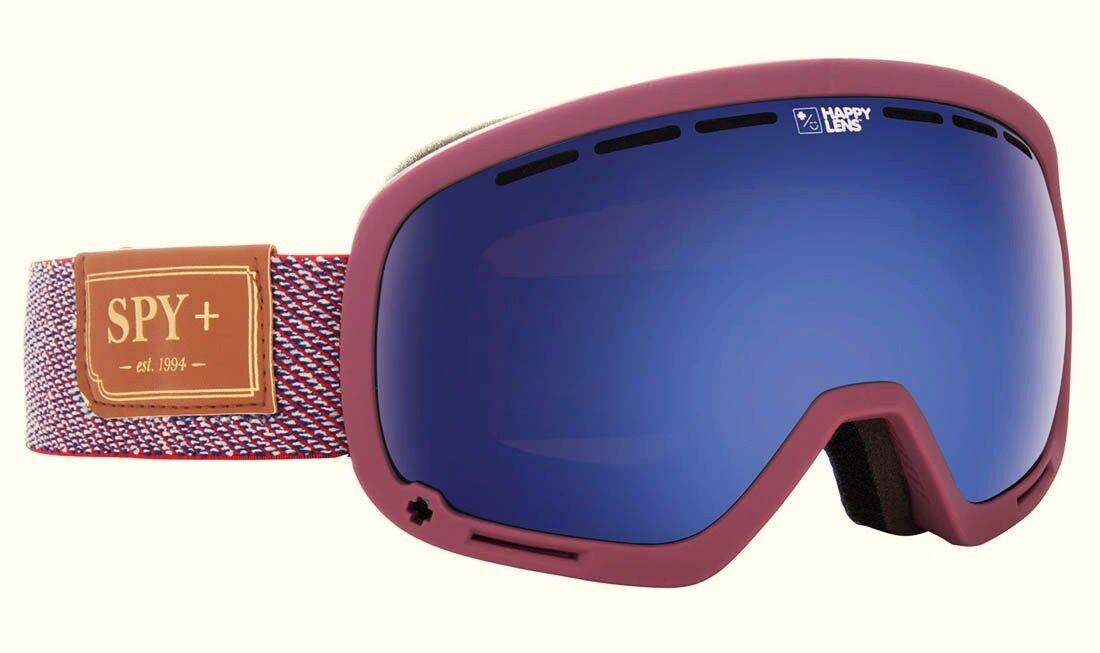 SPY MARSHALL Snow Goggles - 313013823462 - HunterRed DarkblueeSpectra - NIB