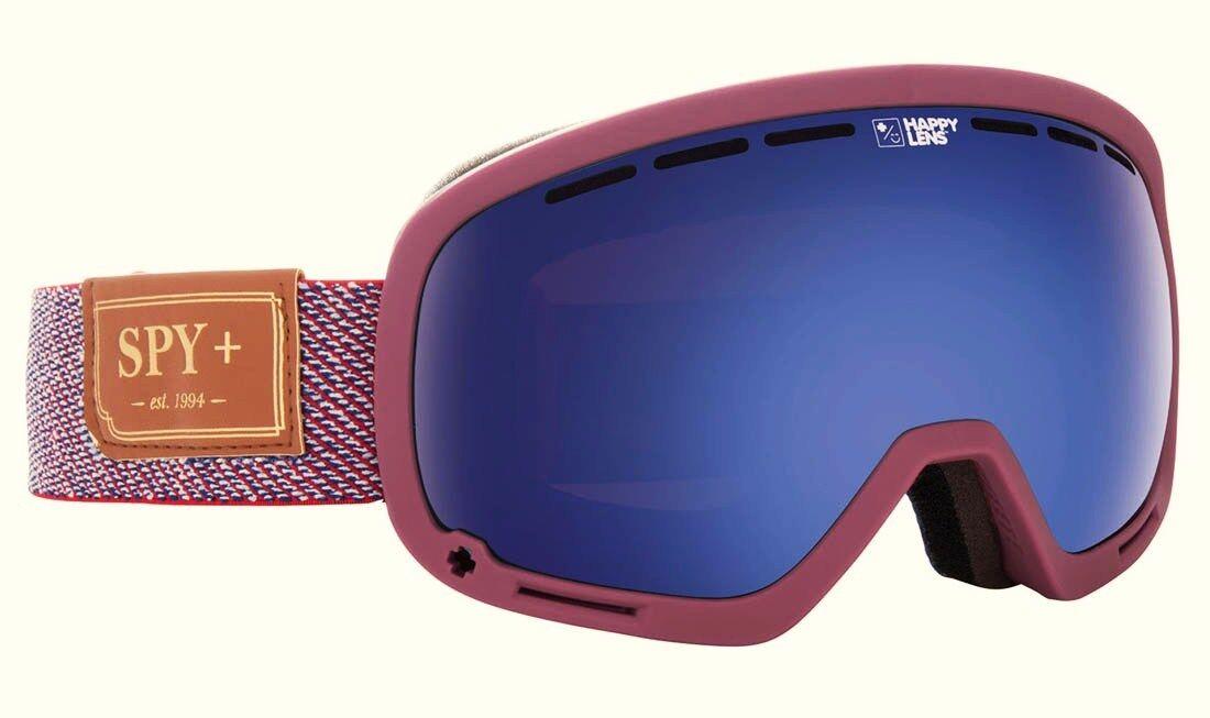 SPY MARSHALL  Snow Goggles - 313013823462 - HunterRed DarkblueeSpectra - NIB  best choice