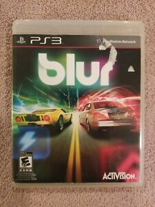 Blur-Sony-PlayStation-3-2010-PS3-Rare-w-case-VGC-Disc-COMPLETE-FREE-S-H