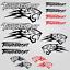 Thundercat-stickers-decal-snowmobile-arctic-cat-snowboard-quad-tuning-helmet miniature 1