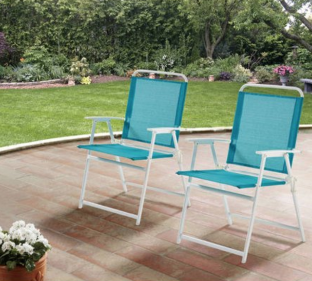Living Accents Folding Sling Chair | Folding Chairs on Living Accents Sling Folding Chaise id=62352