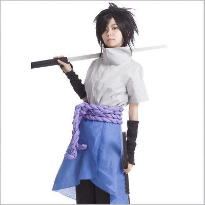 made Naruto   Sasuke Uchiha 6 generation  cosplay custome 5 pieces Custom