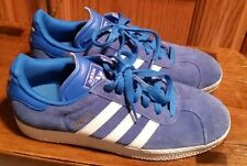adidas Gazelle Unisex Royal Blue White Suede - 5 1 2 open to offers! e159b1077
