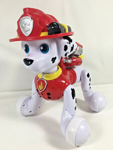 Paw Patrol Zoomer Marshall Interactivo Rolling Pup Con