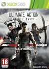 Ultimate Action Triple Pack Tomb Raider Sleeping Dogs Just Cause 2 Xbox 360