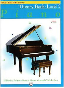 Alfred-039-s-Basic-Piano-Library-Theory-Book-Level-5-NEW