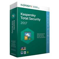 Kaspersky Total Security 2017 - 1 Pc Device 1 Year