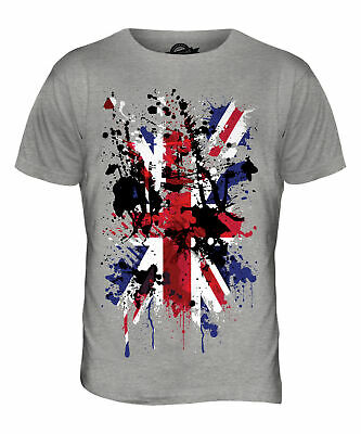 Union Jack T Shirt Size 32 Printed Front and back Brand New with Tags
