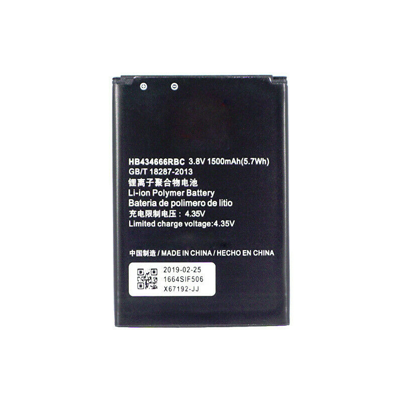 Replacement WiFi Modem Battery - HB434666RBC