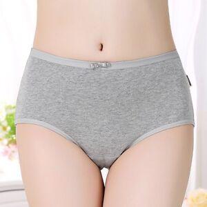 0245ce1198aa 1 Pcs Womens Hot Cotton High Waist Tummy Control Briefs Panties ...