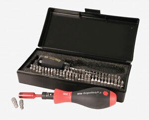 wiha 28595 53 pc torque screwdriver and bits box set made in germany ebay. Black Bedroom Furniture Sets. Home Design Ideas