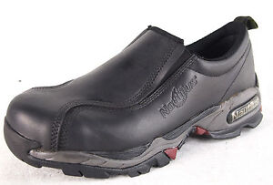 Nautilus-1601-Women-039-s-Black-Steel-Toe-Alloy-Lite-ESD-Safety-Leather-Work-Shoes