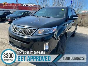 2015 Kia Sorento EX V6 | LEATHER | NAV | PANO ROOF | CAM