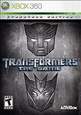 Transformers The Game Cybertron Edition - Xbox 360 - Discs Only no case or art
