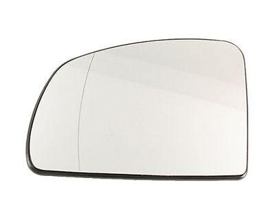 Spiegelglas Außenspiegel Links Asphärisch Chrom Opel Meriva A 03-10