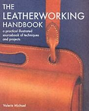 The Leatherworking Handbook~materials, tools, & techniques~Bags-Belts-Wallet-NEW