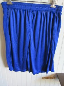 VICTORY-MENS-ATHLETIC-SHORTS-SIZE-L-BLUE-NWT
