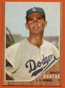 1962-Topps-5-Sandy-Koufax-EX-EX-Brooklyn-Los-Angeles-Dodgers-FREE-SHIPPING