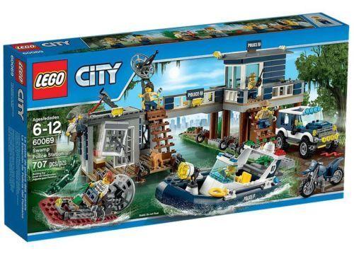 LEGO City 60069-Stazione di polizia nel pantano NUOVO OVP