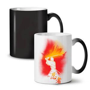 Katana Fighter Fantasy NEW Colour Changing Tea Coffee Mug 11 oz   Wellcoda