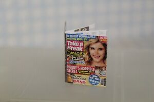 100% Vrai Maison De Poupées (handcrafted = Prendre Une Pause Magazine-afficher Le Titre D'origine