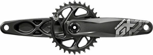 SRAM GX Eagle DUB Boost 148 170mm Direct Mount 32t Chainring Black Crankset