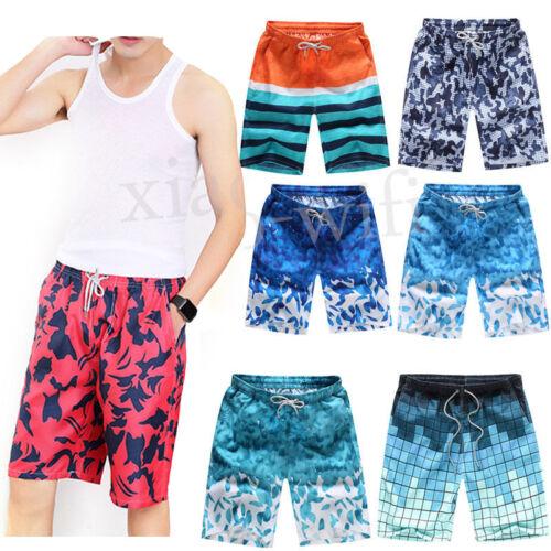 Herren Badeshorts Badehose Schwimmhose Schwimmshort Shorts S-4XL Sommer Mode