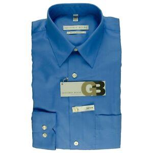 f453d3f19ee Details about NWT Geoffrey Beene 14 1 2 32 33 Regular Fit Sateen Men s  Dress Shirt