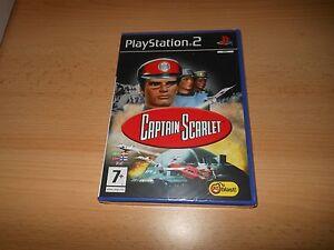 Captain-Scarlet-PLAYSTATION-2-PS2-Nuevo-Precintado