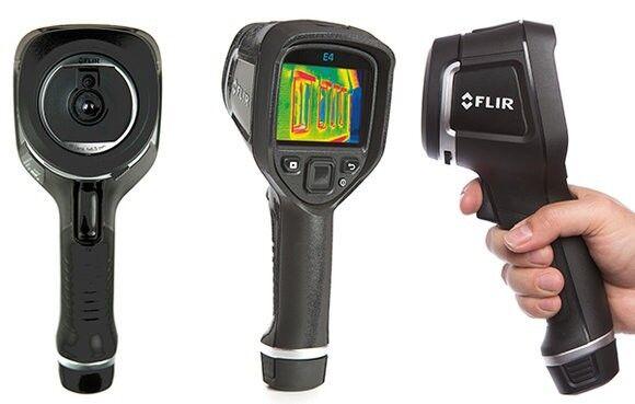 FLIR E4 WiFi Wärmebildkamera Thermal Imager -20 bis +250°C 80 x 60 Pixel 9Hz