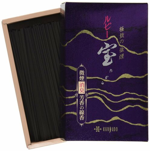 Floral Bouquet Fragrant Incense Stick Kunjudo Ruby TAKARA Japanese
