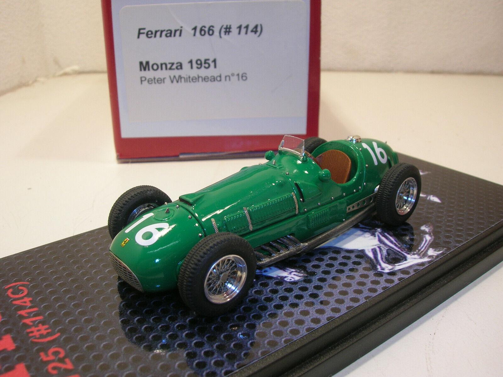 ventas en linea Ferrari 125 ( ( ( 114) Gp Italia 1951  1 43 n AMR BBR  nuevo sádico