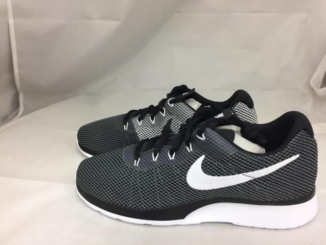 b138ff22835e Nike Tanjun Racer Mens 921669-002 Dark Grey Black Mesh Running Shoes ...