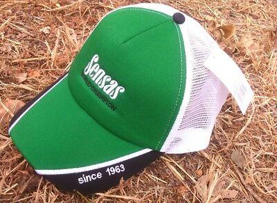 Sensas World Champion Cap Green And Black Cap