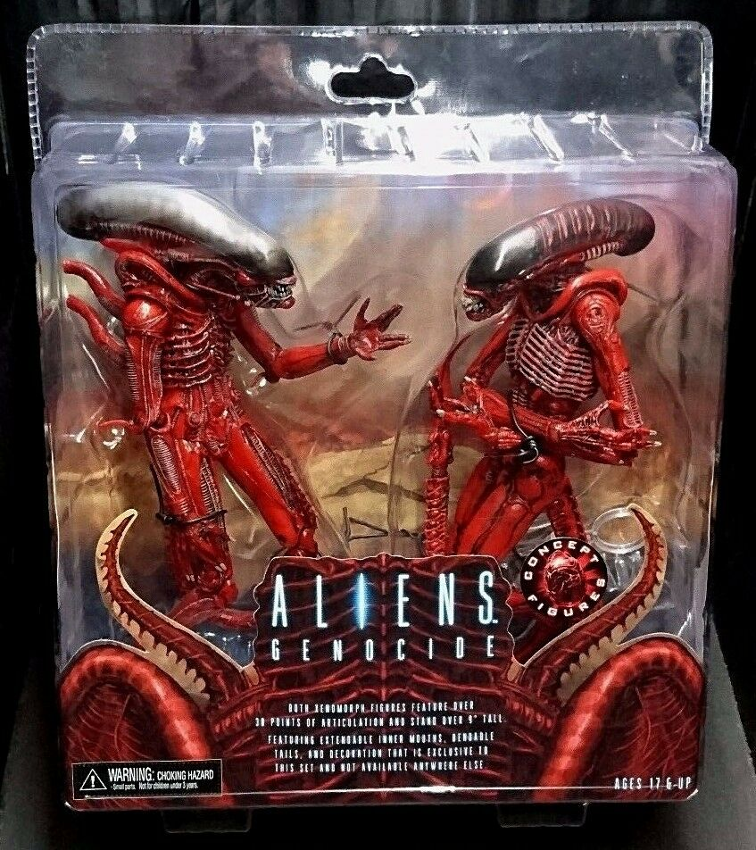 Aliens Genocide XENOMORPH 2-Pack Big Chap & Dog Alien New  Exclusive PS4 XBOX