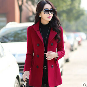 HOT-Ladies-Womens-Winter-Korean-Slim-Fit-Outwear-Warm-Coats-Jackets-Blazer-Wool
