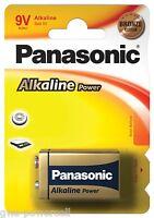 1 x Panasonic 9V Block Blister Alkaline Power 6LR61  E-Block Bronze Award