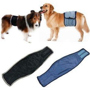 Hunde-Ruedenbinde-Windelhose-XS-XL-Waschbar-Pocketwindel-Schutzhose-Anti-Stoerung