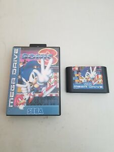 Sonic 3 Sega Mega Drive No Manual booklet  (Tested And Working)