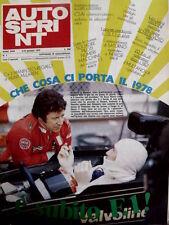 Autosprint 1 1978 Nuova ATS. Ralt RT1. I piloti visti da Enzo Ferrari [Sc.40]
