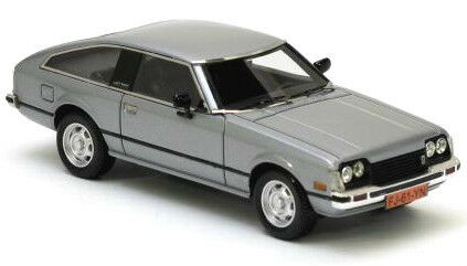 wonderful NEO-modelcar TOYOTA CELICA MKII 1979 - silver metallic - 1/43