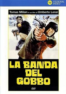 TOMAS-MILIAN-LA-BANDA-DEL-GOBBO-1978-di-Umberto-Lenzi-DVD-USATO-EX-NOLEGGIO